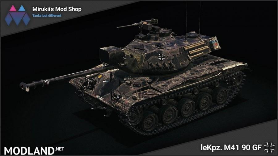 Mirukii's leKpz. M41 90 GF Remodel [1.5.1.0]